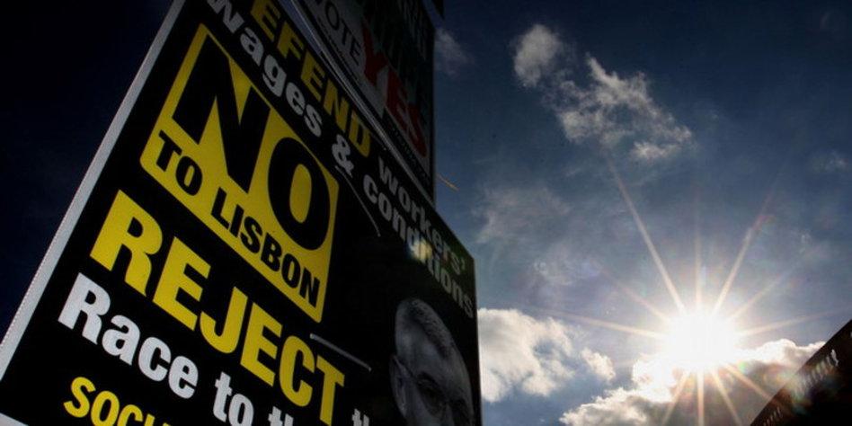 Irland Lehnt Offenbar Eu Vertrag Ab Die Querulanten Von Der Insel