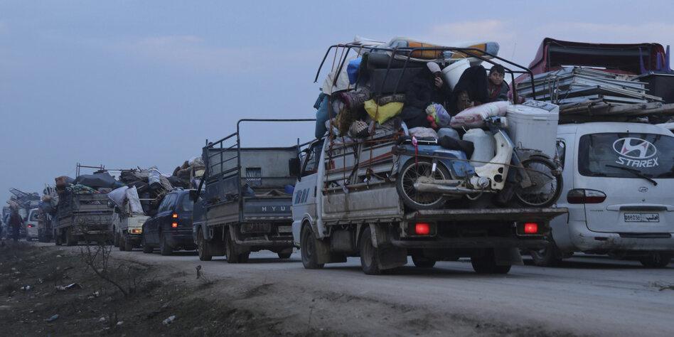 UNO: Mehr als 235.000 Menschen aus Provinz Idlib geflohen