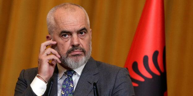 Albaniens Ministerpräsident Edi Rama im Porträt