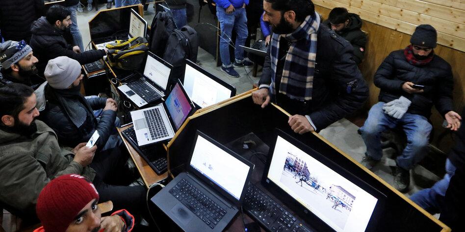 Kaschmir bekommt wieder Internet
