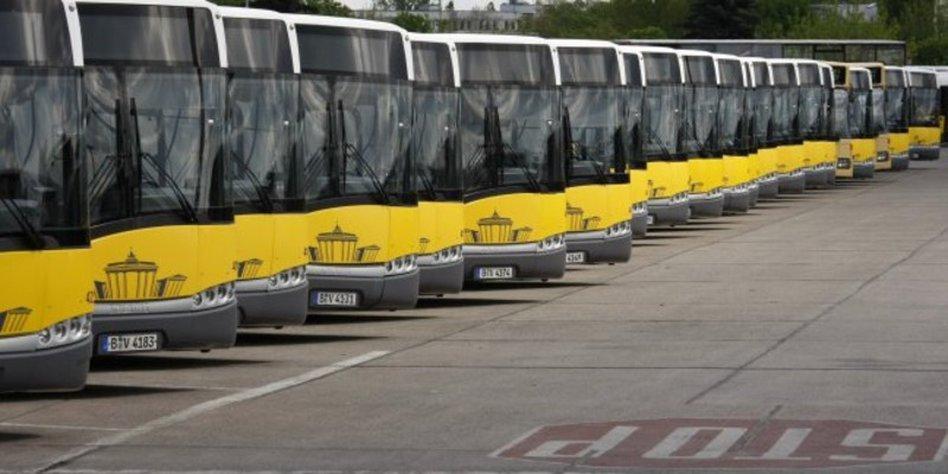 streiken die busse morgen