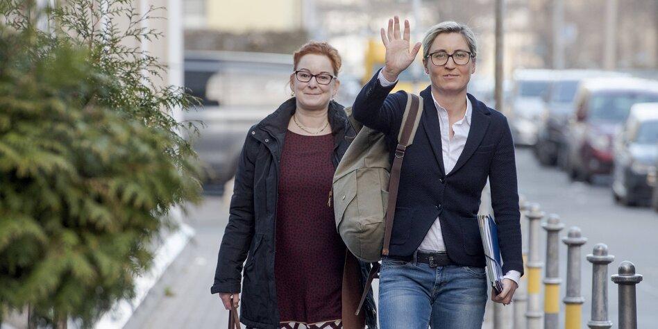 """Thüringens Linke-Chefin über CDU: """"Der Tabubruch steht bevor"""""""