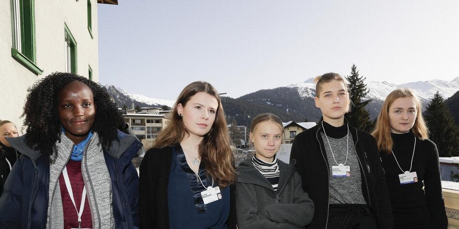 Davos, eurozentriert