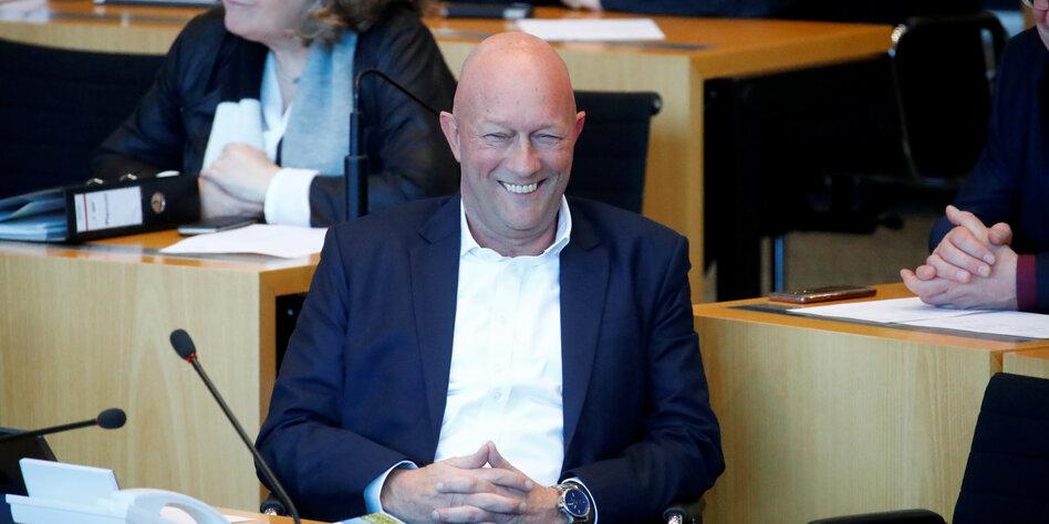 Ministerprasidentenwahl In Thuringen Die Masken Sind Gefallen