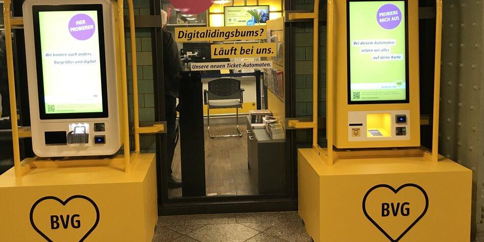 Neue Ticketautomaten für die Tram: Die BVG schafft das Geld ab