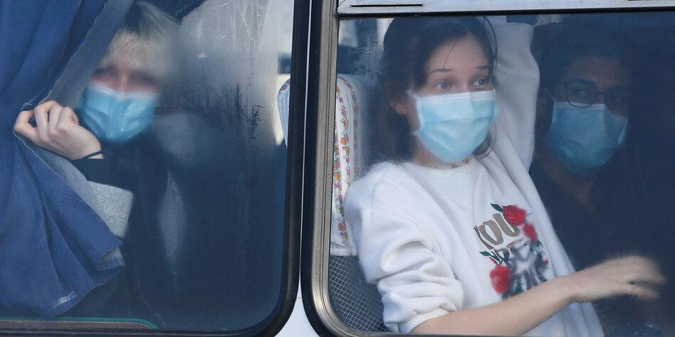 Corona-Virus in der Ukraine: Ukrainer meiden China-Rückkehrer