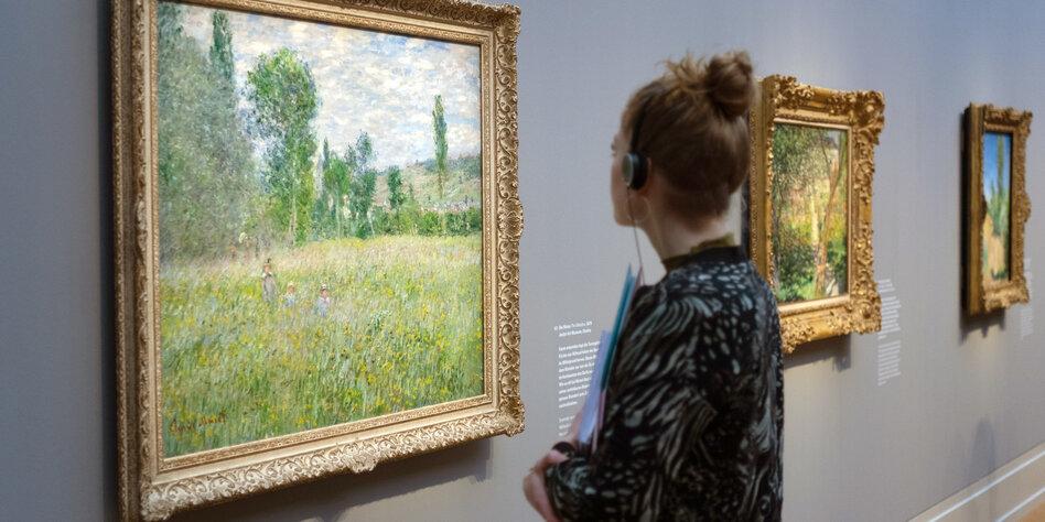 Monet-Schau in Potsdam: Den Erfolg im Blick