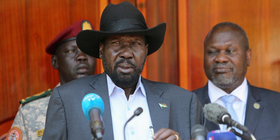 Regierungsbildung im Südsudan: Unmögliches Tandem