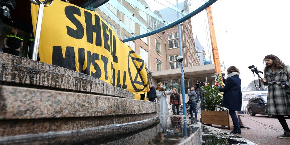 """Aufdeckung der """"Shell Papers"""": Konzerngeld für Klimawandelleugner"""