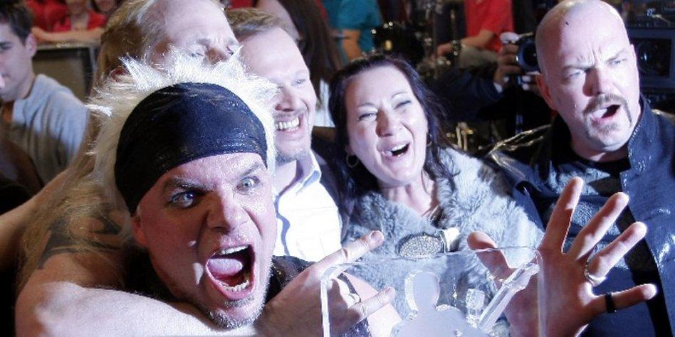Bundesvision Song Contest 2008 Subway To Sally Gewinnt Tazde