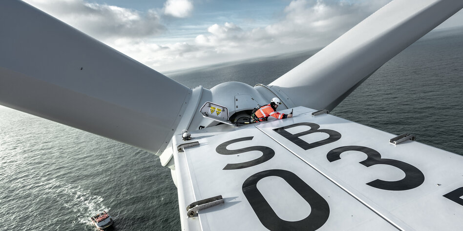 Studie zu ineffizienten Offshore-Parks: Windkraft auf See bleibt Luft weg