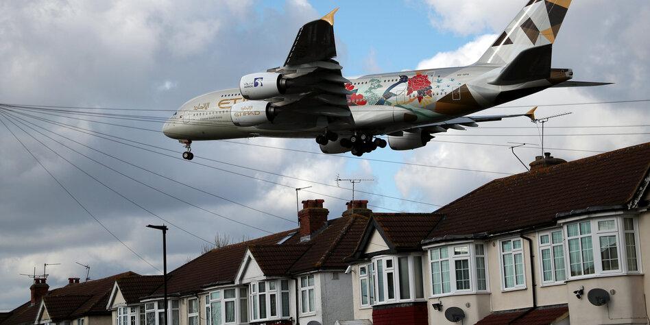 Gericht stoppt Pläne für 3. Piste am Flughafen Heathrow