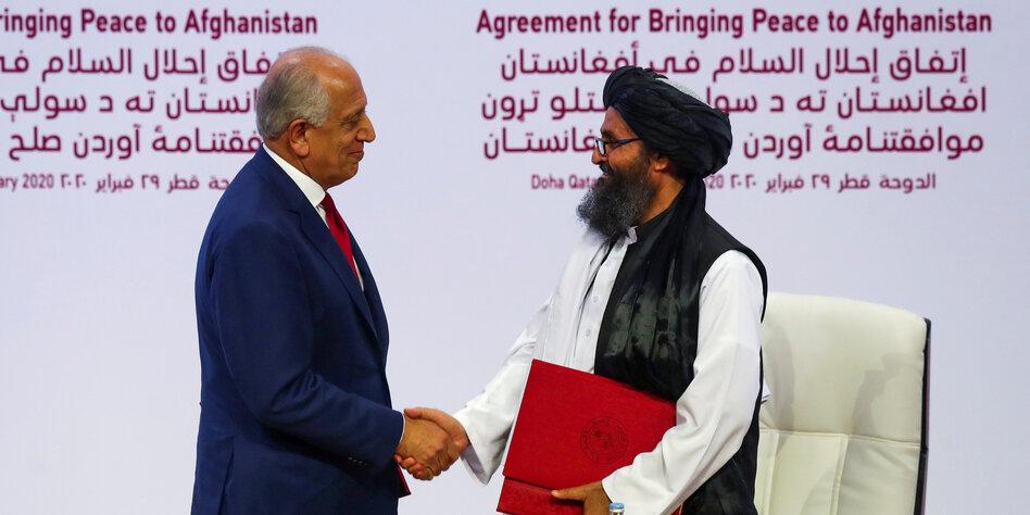 Afghanistan: USA und Taliban unterzeichnen historisches Abkommen in Doha
