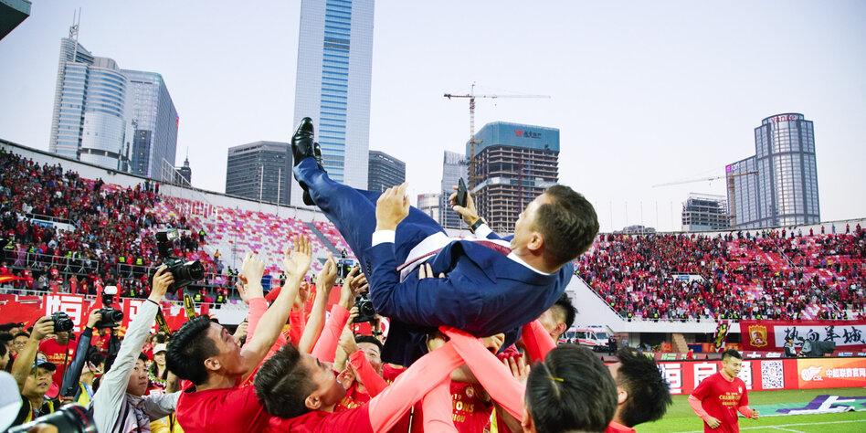 Chinesische Super League in Gefahr: Kurz vor dem harten Crash