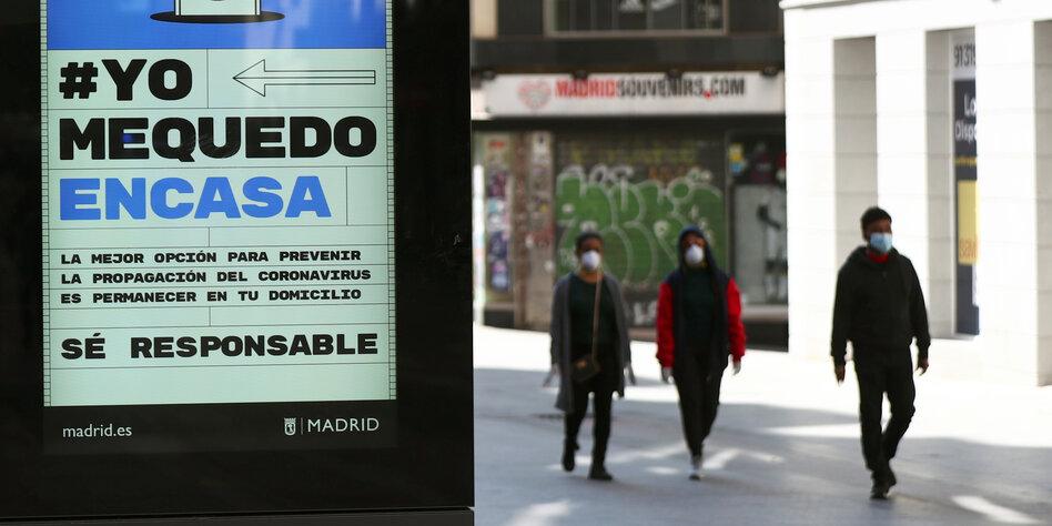 Fast 400 neue Corona-Todesfälle in Spanien innerhalb von 24 Stunden