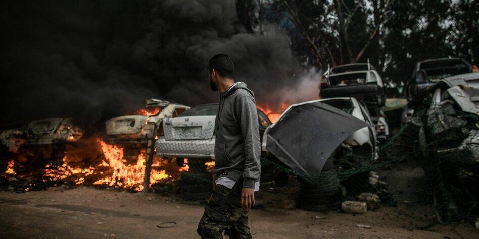 Schwere Kämpfe in Libyen: Regierung in Tripolis umzingelt