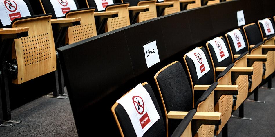 Corona und Berliner Abgeordnetenhaus: Nicht schön, aber unumgänglich