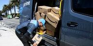 Streik bei US-Versandhändlern: Corona-Protest bei Amazon & Co