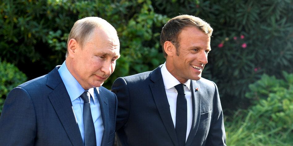 Russland-Sanktionen: Einmischen, nicht ausweichen