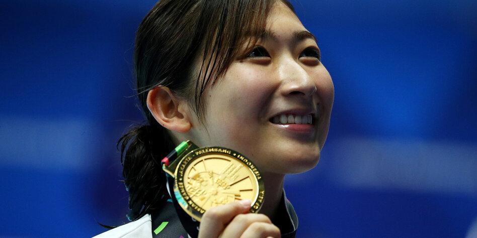 """Japanische Star-Schwimmerin: """"Ich wollte sterben"""""""