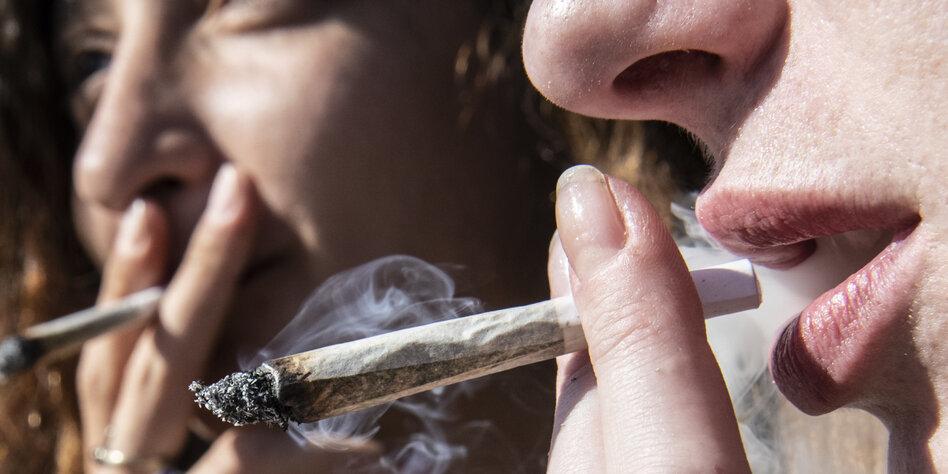 Cannabis Rauchen