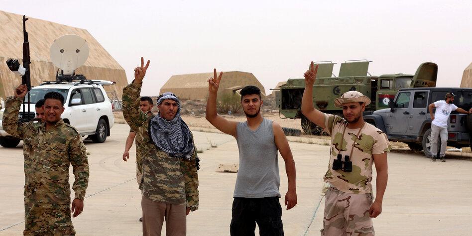Haftars Niederlage in Libyen: Die Söldner ziehen ab