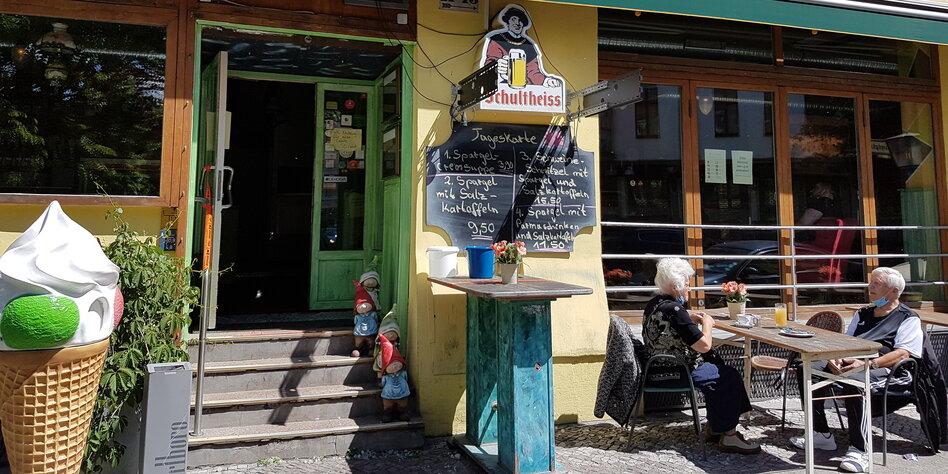 Gastronomie in Berlin: Ausschank auf dem Parkplatz