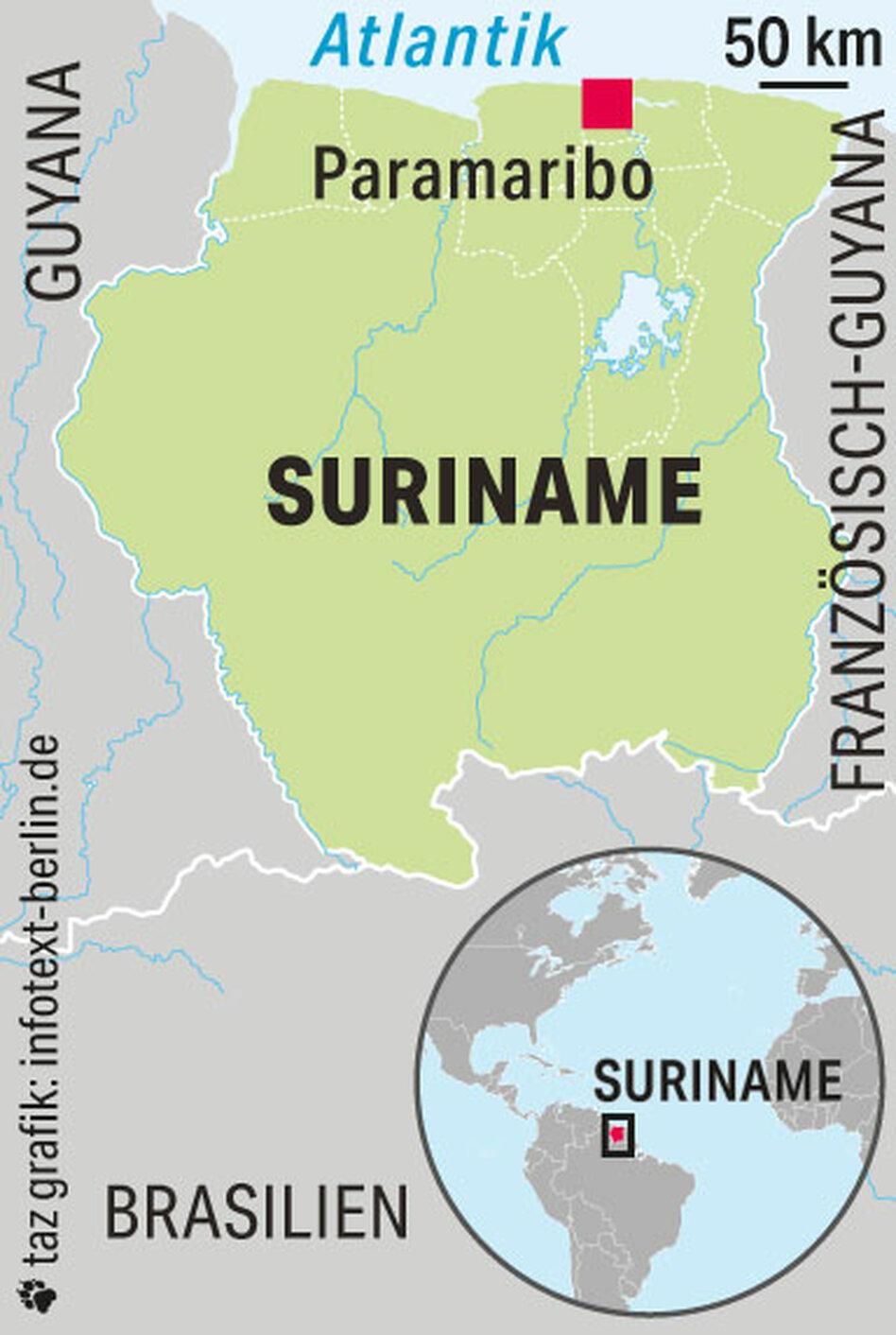 Ende Der Ara Bouterse In Surinam Surinam Hofft Auf Veranderung Taz De