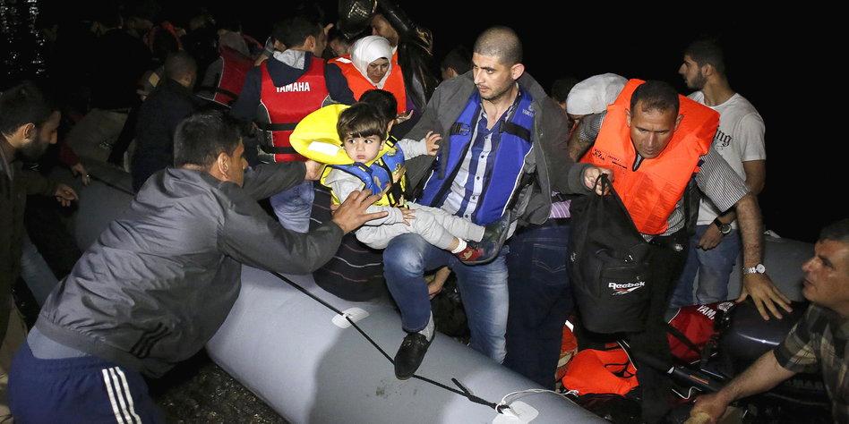aufgenommene flüchtlinge in deutschland 2015
