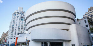 Aussenansicht des Guggenheim-Museums in New York