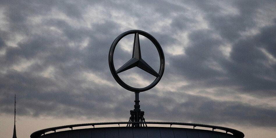 Deutsche Militärtrucks in Aserbaidschan: Eindeutig ein Mercedes