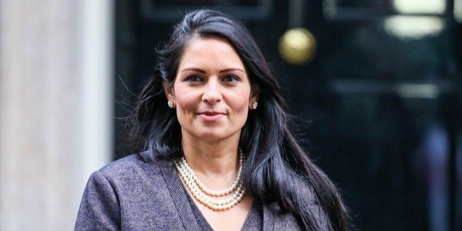 Britische Innenministerin Priti Patel: Brexit-überzeugte Quereinsteigerin