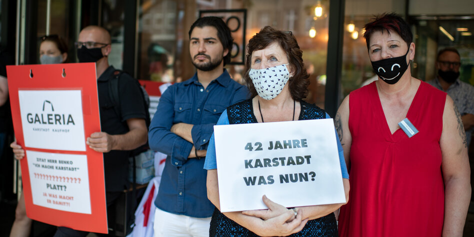 Kaufhäuser hoffen auf Mietsenkung: Der Kampf um Karstadt