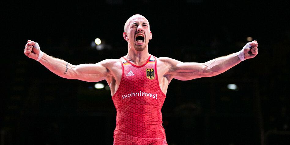 """Ringer Frank Stäbler über Olympia 2021: """"Ich bin All-in gegangen"""""""