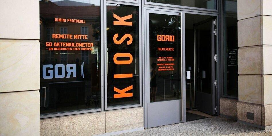 """Neuer """"Kiosk"""" des Gorki Theaters: Was Theater sein kann"""