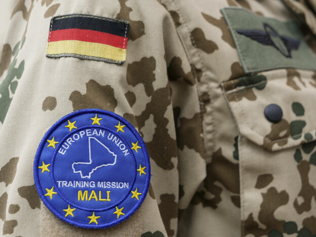 Uniform von EU-Trainings-Mission Mali