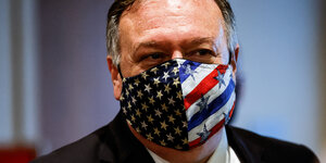 Außenminister Mike Pompeo