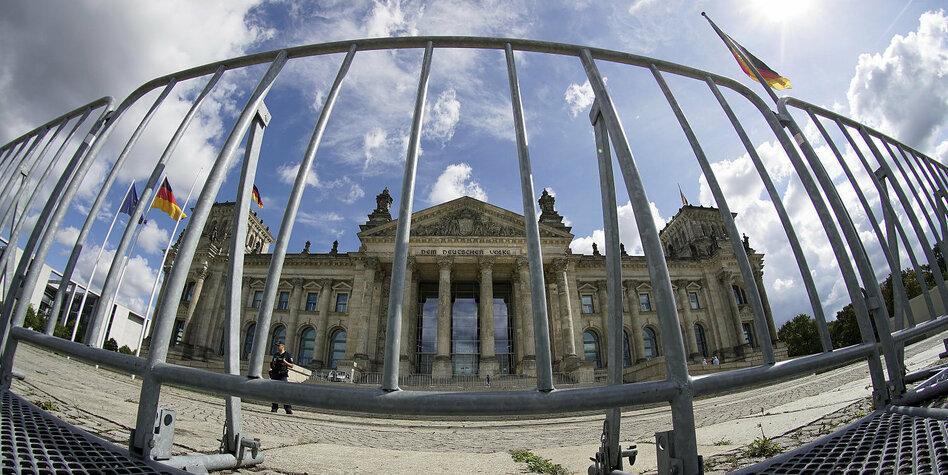 Graben Um Reichstag