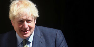 Portrait von Boris Johnson