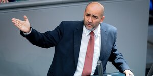 Omid Nouripour im Bundestag