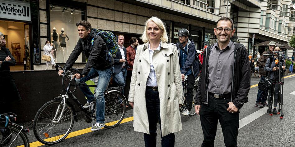 Berliner Grüne im Wahlkampf: Mitte(n) in der Arena