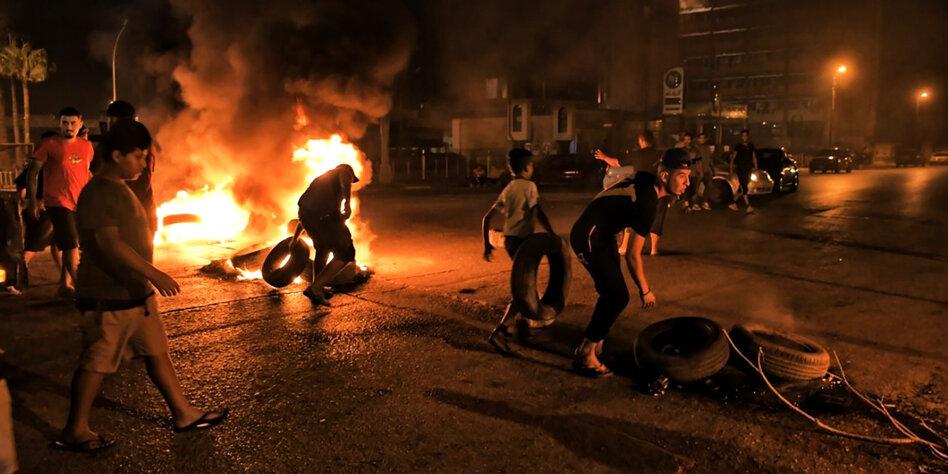 Bengasi brennt