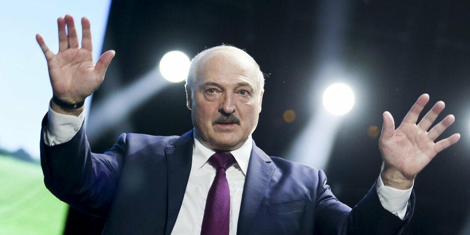Proteste in Belarus: Lukaschenko schließt Grenzen zur EU - taz.de
