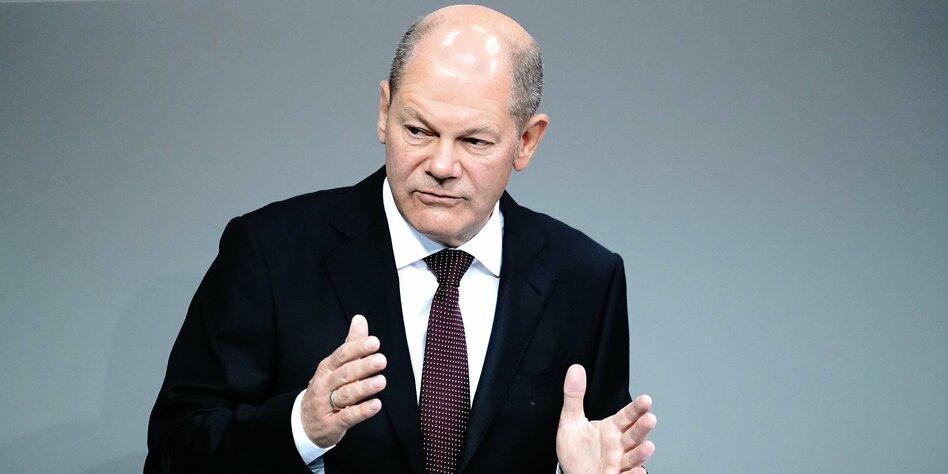 Haushaltswoche im Bundestag beginnt: Scholz verteidigt Neuverschuldung