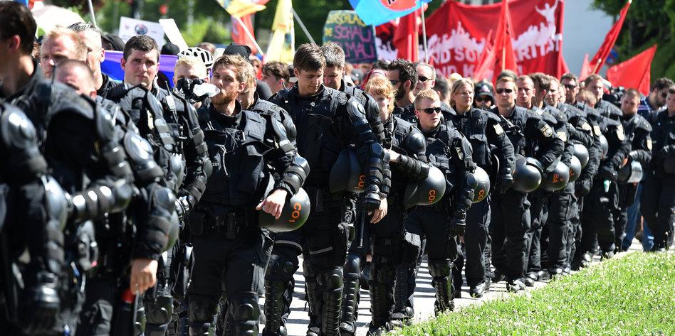 hundertschaft polizei bayern