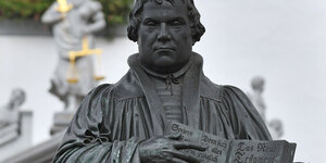 Denkmal für Martin Luther in Wittenberg