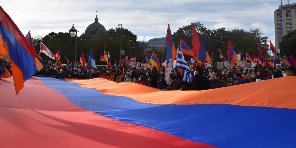 Berg Karabach In Deutschland Frieden Fur Artsakh Taz De