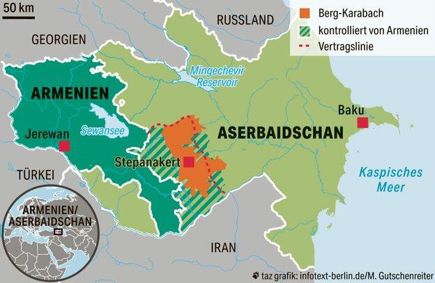 Krieg Zwischen Aserbaidschan Und Armenien Todliches Pokern Taz De