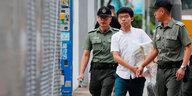 Eingeschränkter Rechtsstaat Hongkong: Joshua Wong im Gefängnis