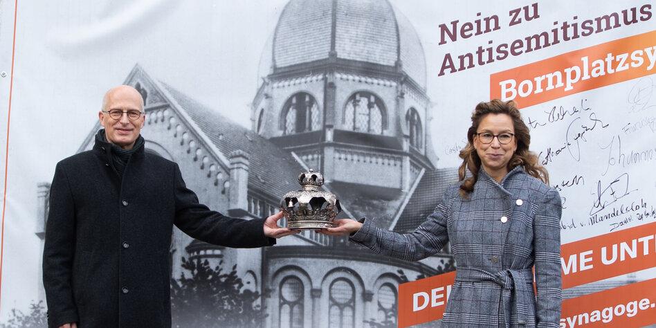 Beistand aus Berlin